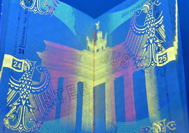 Un passeport allemand (archives photo)
