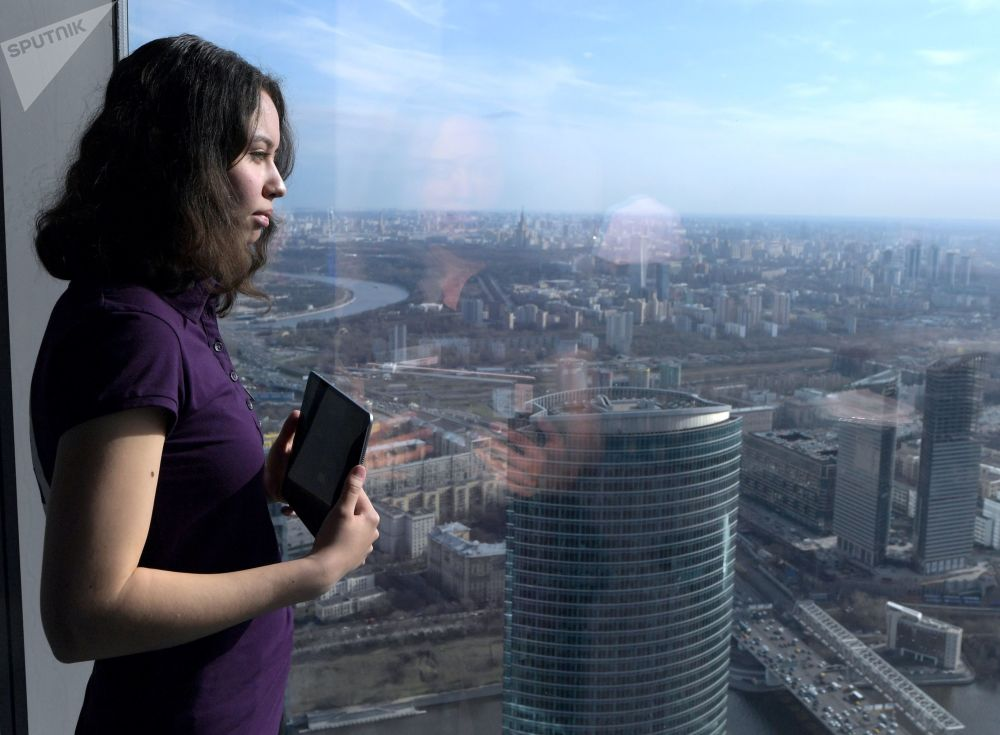 La plus haute terrasse panoramique d'Europe a ouvert ses portes à Moscou