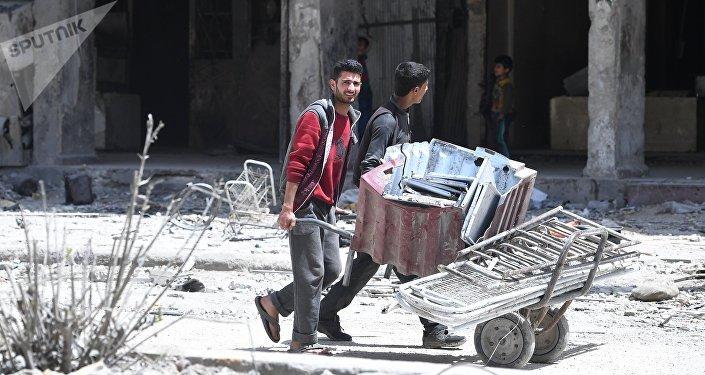 Douma, Syrie, image d'illustration