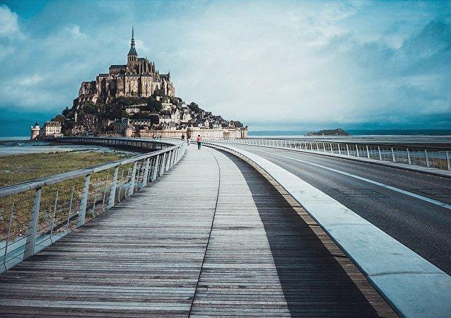 Mont Saint-Michel, Le Mont-Saint-Michel, France