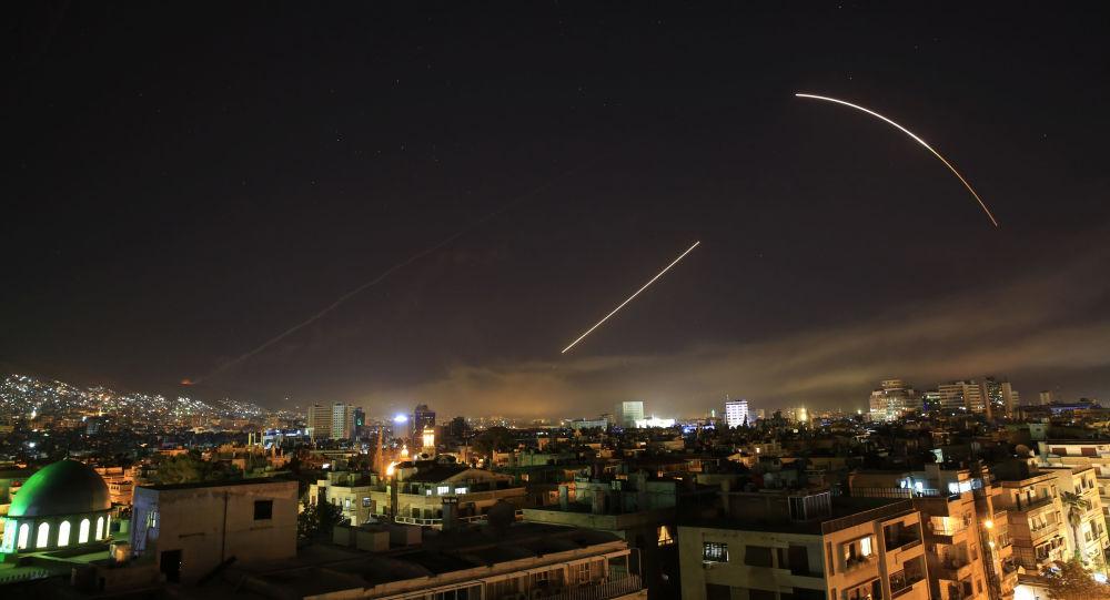 Frappes en Syrie (image de démonstration)