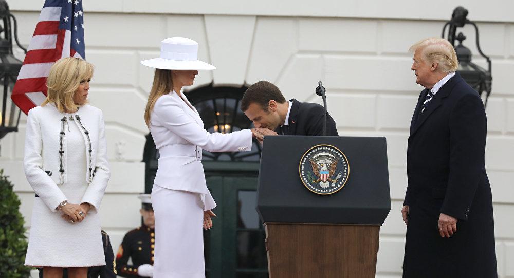 Macron aux États-Unis