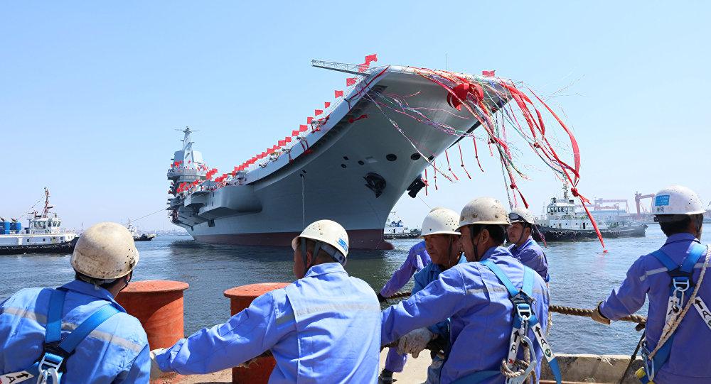 Le porte-avions chinois Type 001A
