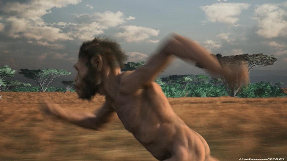 Extrait du film d'animation Homo naledi: Rencontre entre deux mondes (auteur – Sergueï Krivopliassov)