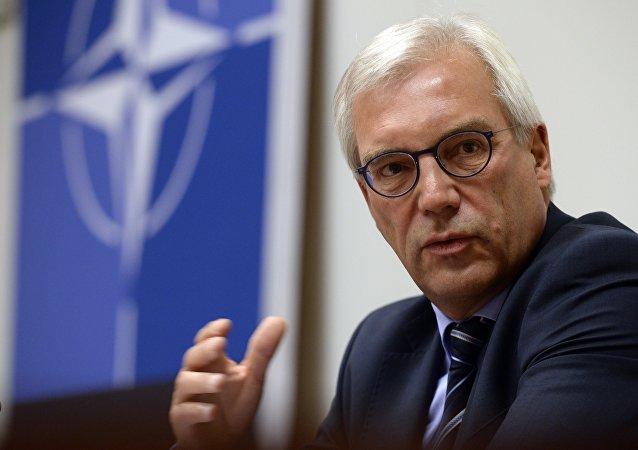 Le vice-ministre russe des Affaires étrangères Alexandre Grouchko