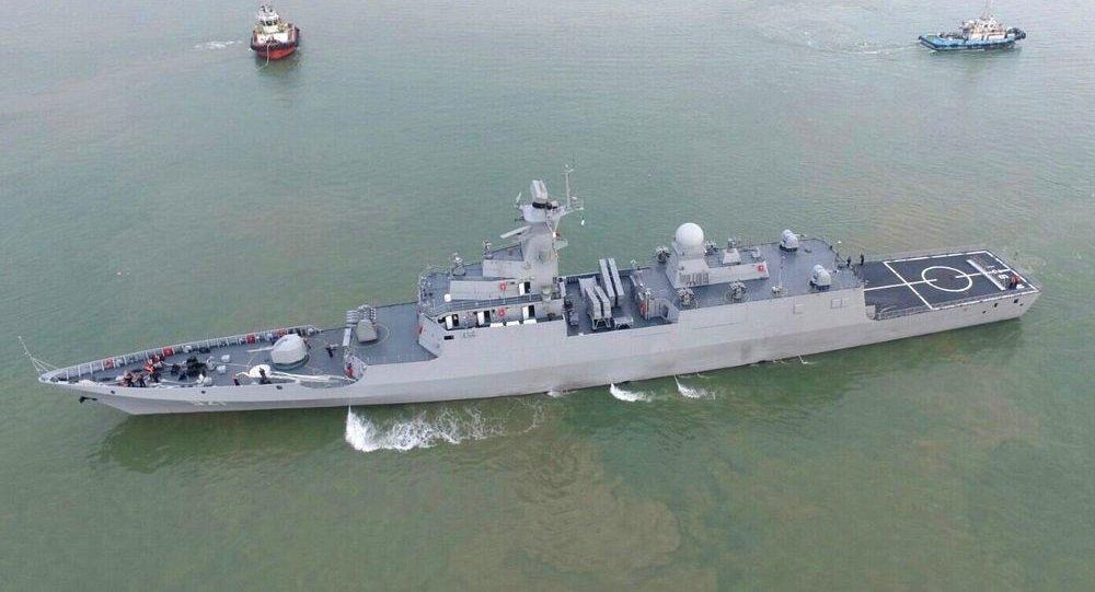 Corvette furtive lourde de classe C28A de la Marine algérienne, unité El Fateh 921.