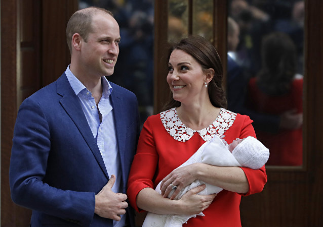 Le prince William et son épouse