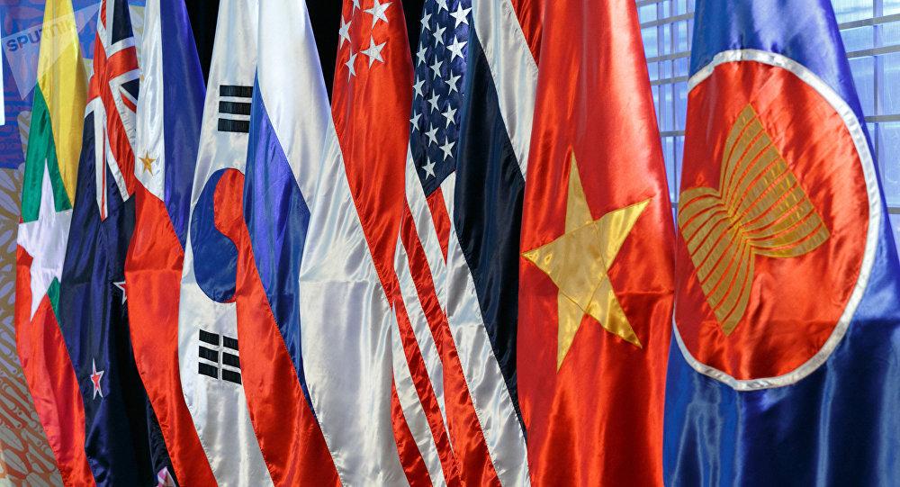 Drapeaux des pays de l'ASEAN