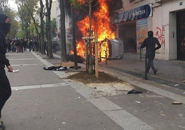 Manif du 1er mai 2018 à Paris