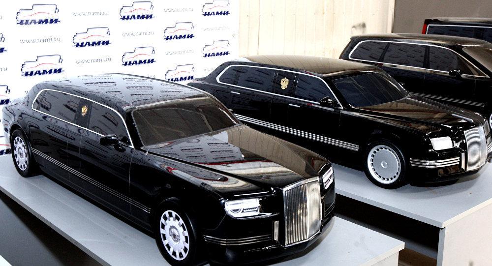 limousine Aurus Senat du projet Cortège