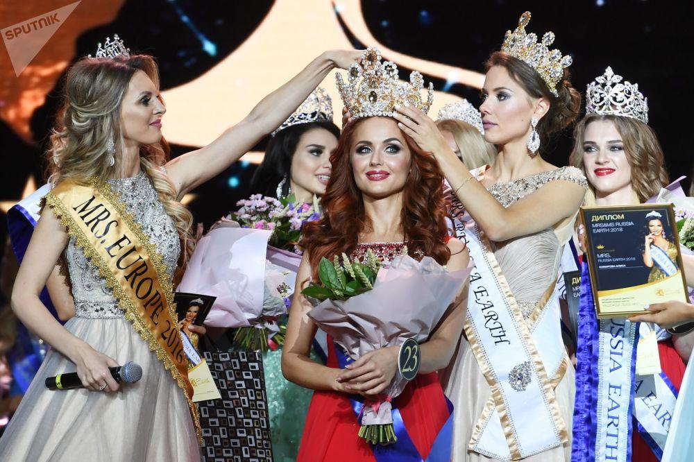 La finale du concours de beauté Mrs&Ms Russia Earth 2018