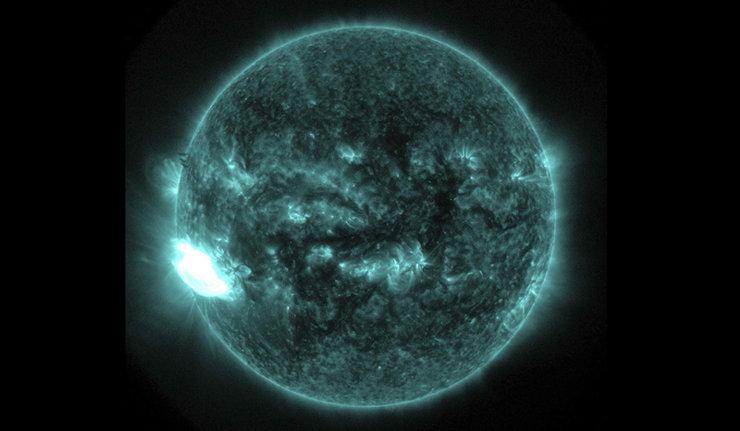Une tâche géante est apparue sur le Soleil