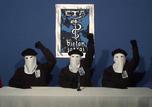 Membres du groupe séparatiste basque ETA