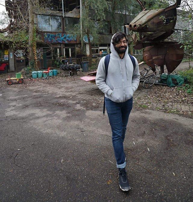 Raj près dun squat à Amsterdam