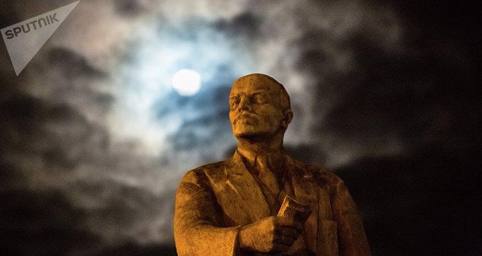 Le monument de Lénine à Simféropole