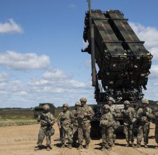 Système de missiles sol-air américain Patriot, photo d'illustration