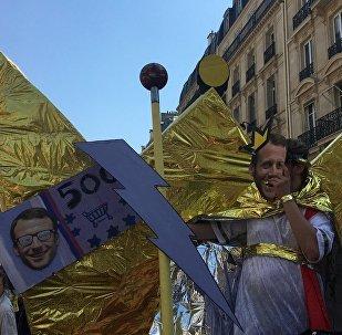 «La Fête à Macron»