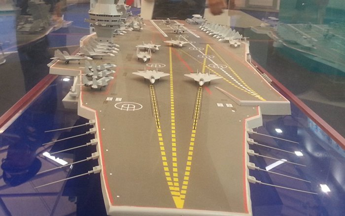 Un m dia am ricain value les possibilit s du nouveau porte avions russe sputnik france - Nouveau porte avion americain ...
