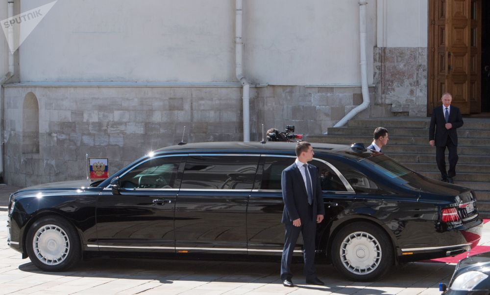 Une limousine pour le Président: le nouveau Cortège