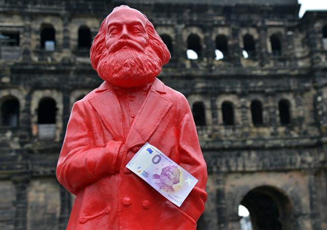 Statue de Karl Marx