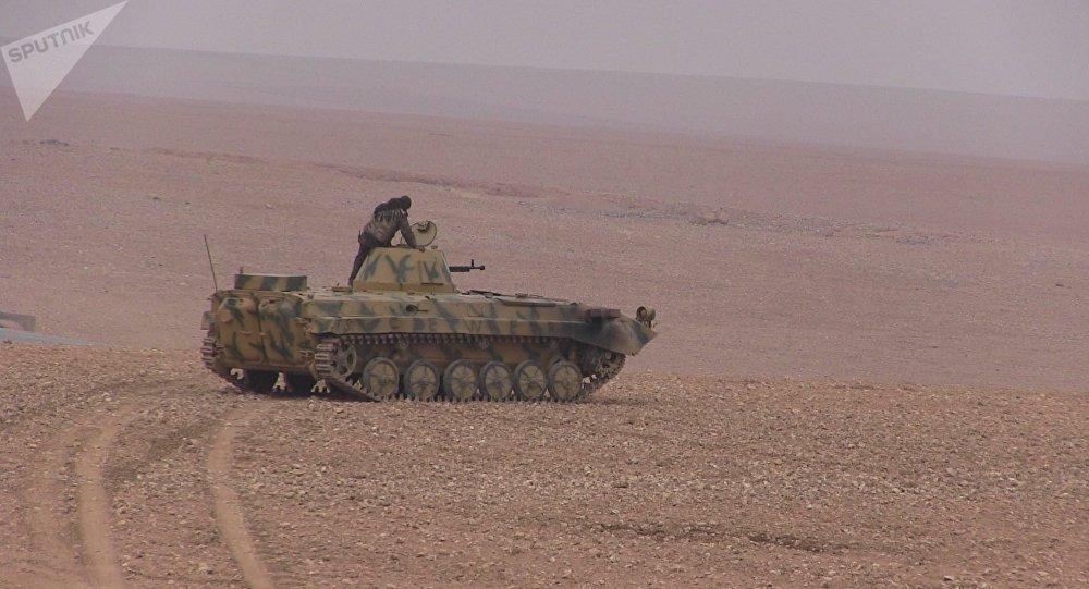 Les FDS lors de l'opération de libération de Deir ez-Zor