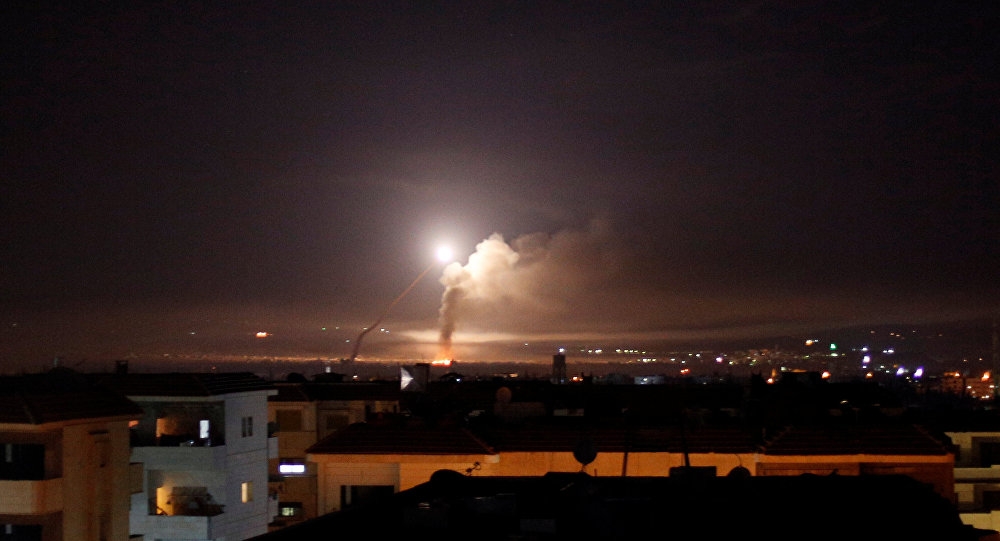 Frappes israéliennes contre la Syrie