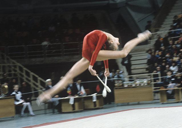 gymnaste de l`URSS