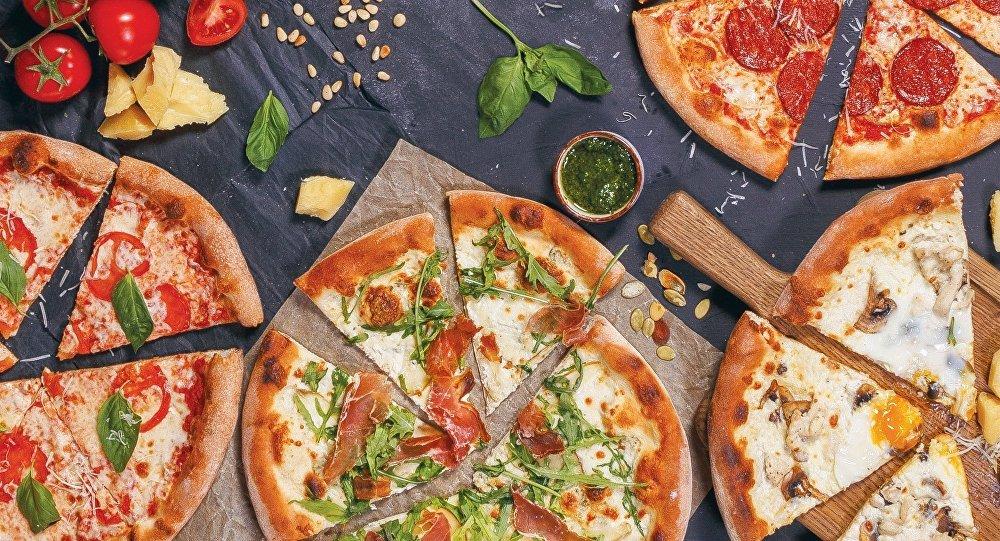 Pizza au restaurant Donna Olivia