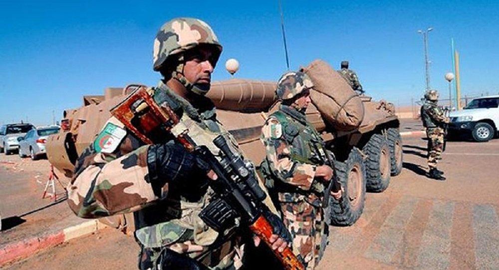 Militaire algérien