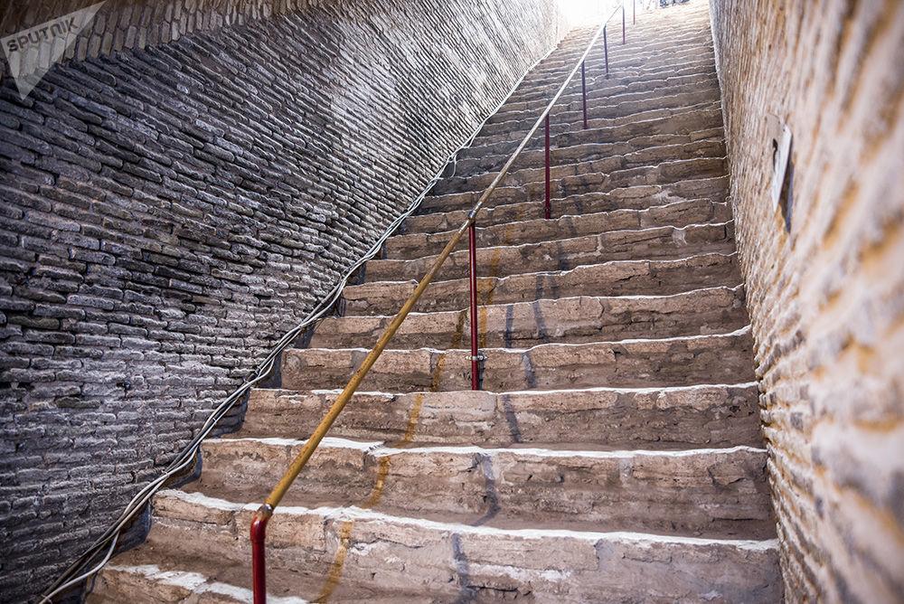 La ville souterraine Oeei en Iran: un chef-œuvre de l'ingénierie antique