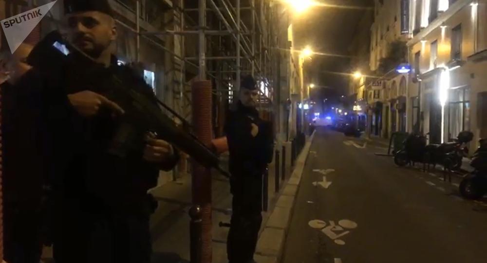 Le 2e arrondissement de Paris après une attaque au couteau (12 mai 2018)