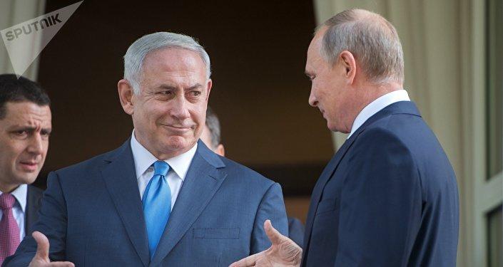 Vladimir Poutine et Benyamin Netanyahou