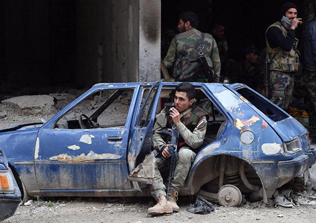 Situation dans le secteur du camp de réfugiés de Yarmouk, dans la balieue de Damas