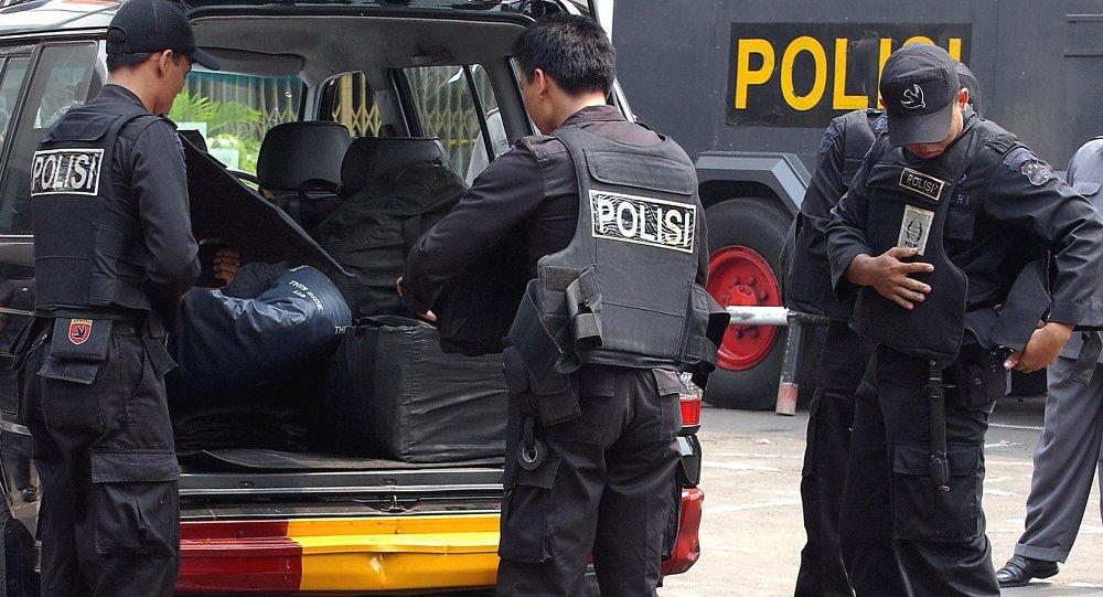 police indonésienne