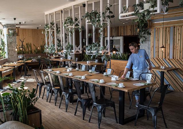 Green Cafe à Rostov-sur-le-Don