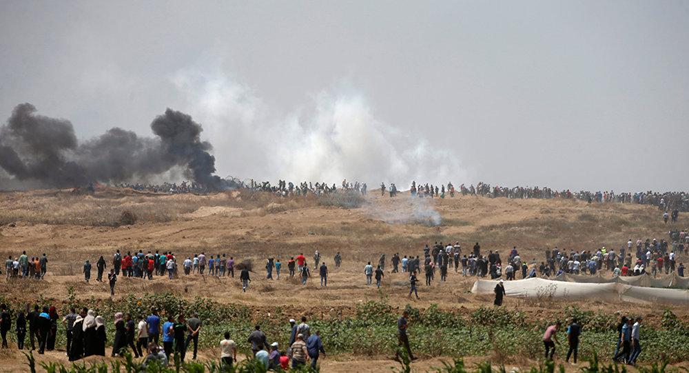 Gaza: Netanyahu justifie l'usage de la force par la défense des frontières
