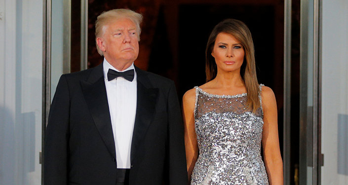 Le couple Trump