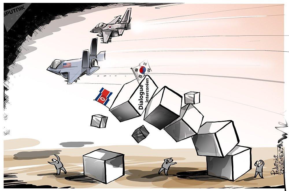 Les manœuvres conjointes des États-Unis et de la Corée du Sud