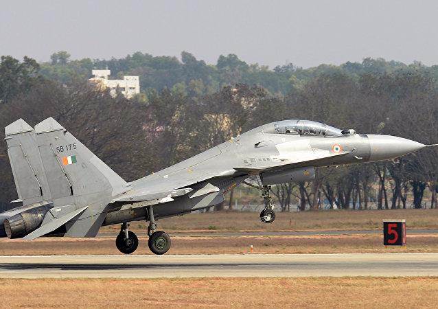 Un Sukhoi Su-30MKI de l'armée indienne