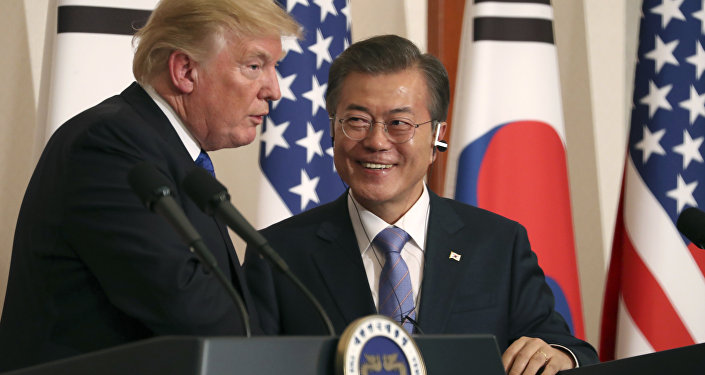 Donald Trump et Moon Jae-in (archives)