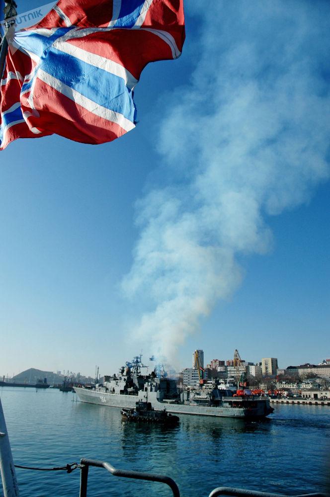 Le Jour de la Flotte russe du Pacifique