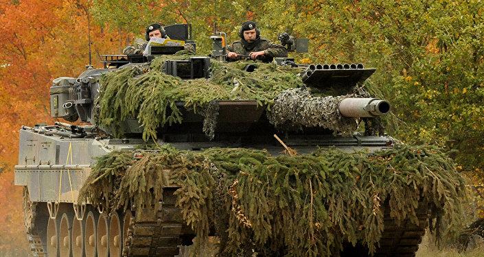 Un Leopard 2