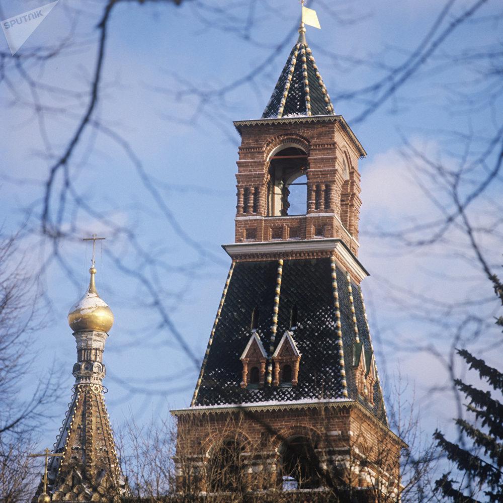 Tour Nabatnaïa (tour du Tocsin) au Kremlin de Moscou