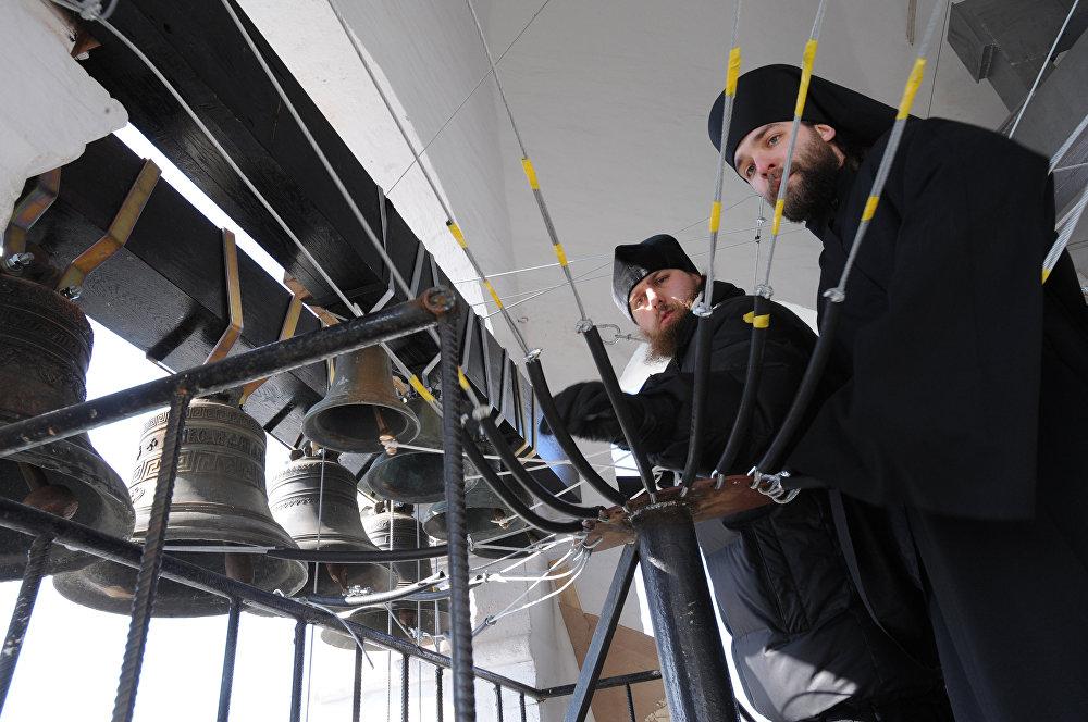 Le carillon du monastère Saint-Daniel de Moscou rendu par l'Université Harvard à l'Eglise russe