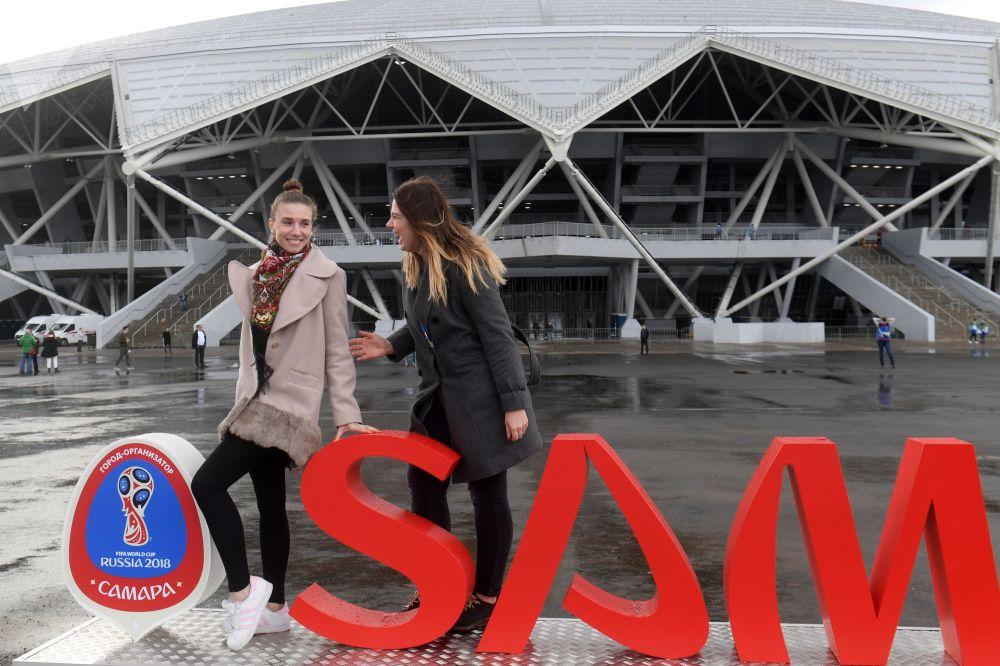 Les villes de la Coupe du Monde: Samara
