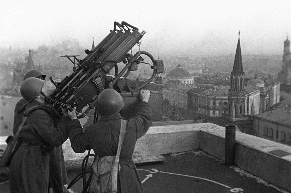 défense antiaérienne, Moscou