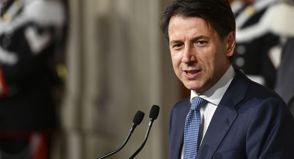 Nouveau premier ministre italienGiuseppe Conte