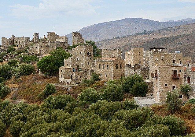 Péloponnèse, en Grèce