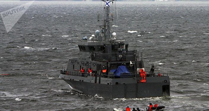 Le navire anti-sabotage Gratchonok rejoint le groupe naval russe en Méditerranée