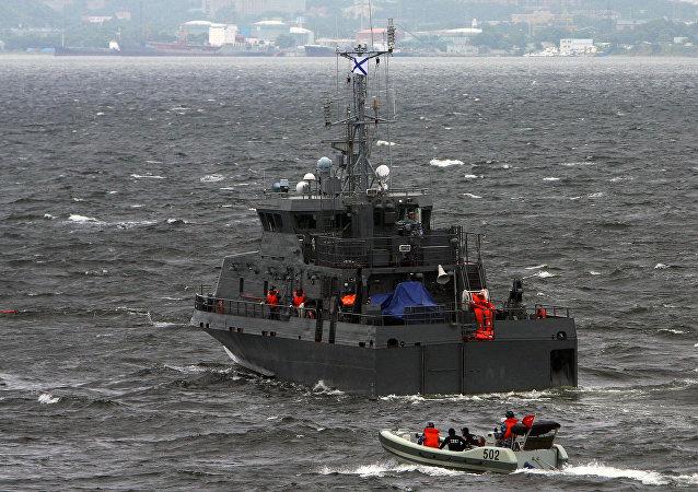 Le navire anti-saboteur Gratchonok